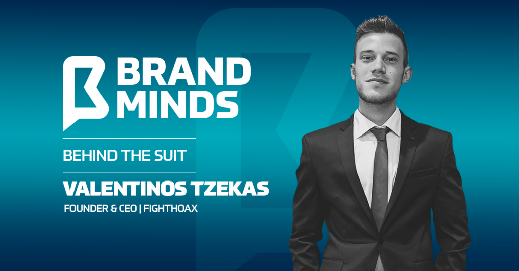 Meet the founder of FightHoax   Behind the Suit