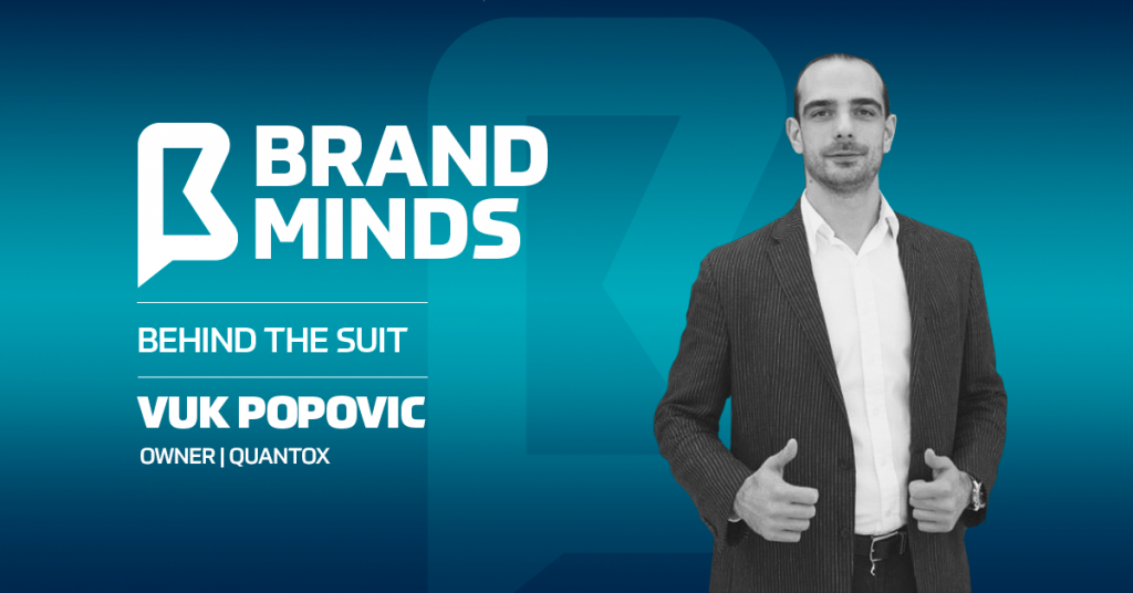 Meet the owner of Quantox   Behind the Suit